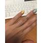 Кольца Круглой формы Повседневные Бижутерия Медь Кольца на вторую фалангу5 Медный
