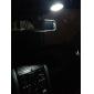 T10 Automatique Blanc 3W LED SMD Lumières pour tableau de bord Eclairage plaque d'immatriculation Feux clignotants Feux stop