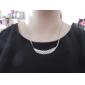 Women's Fashion Choker Necklace Rhinestone Alloy Choker Necklace , Wedding Party Daily