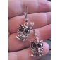 Drop Earrings Alloy Fashion Animal Shape Owl Jewelry Party Daily