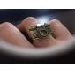 Кольца Повседневные Бижутерия Медь Женский Массивные кольца Золотой