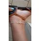 Жен. Ножной браслет/Браслеты Сплав Базовый дизайн Простой стиль Регулируется Бижутерия бесконечность Бижутерия Назначение Для вечеринок