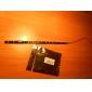 0,3 15x1210SMD lumière blanche fraîche \ bleu LED flexible imperméable à cordes (12V DC)