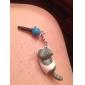 Gray Cat Catch The Bulb Shaped 3.5mm Earphone Jack Anti-dust Plug