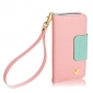 DF® Colorful Little Bird PU Leather Full Body Wallet Case with Strap for iPhone 6 Plus(Assorted Colors)