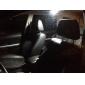 T10 Festoon Carro Motocicleta Branco 8W COB 5000-5500 Luz de Leitura Luz de Marcador Lateral