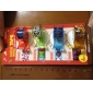 4 paquete de silbato dispensador de cinta con forma de cinta