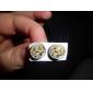 XIAO HUANG REN Stainless Steel  Stud Earrings