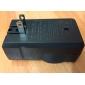 듀얼 슬롯 18650 리튬 이온 건전지 플래쉬 등을위한 충전기 (미국 마개)