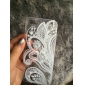Couleur Pleine/Transparent/Nouveauté/Ultra Fin/Conçu en Chine/Fleur - Coque - pour iPhone 5/iPhone 5S (Multi-couleur , PUT)