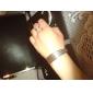 lureme®silver покрытием вырезать проволоки браслет манжеты