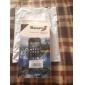 Capa Rígida à Prova d'água com Design Perfeito e Tecido de Limpeza para iPhone 5/5s (Cores Diversas)