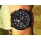 Men's Watch Military Fighter Jet Design Leather Band Cool Watch Unique Watch