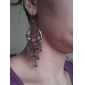 Persian Moon Resin Gem-Studded Earrings