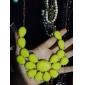 collier acrylique de bonbons de couleur goutte d'eau exquis (couleurs assorties)