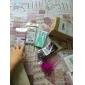 Pour Coque iPhone 5 Transparente Motif Coque Coque Arrière Coque Dégradé de Couleur Dur Polycarbonate pour iPhone SE/5s/5