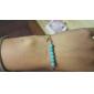 moda shixin® resina azul bracelete forma de cruz (1 pc)