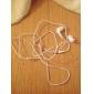 Ecouteurs Stéréo Intra-auriculaires pour iPhone - Blanc