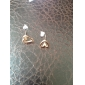 Women's Stud Earrings Costume Jewelry Simple Style Fashion Alloy Heart Jewelry For Party Daily Casual