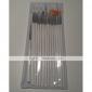 15PCS White Nail Art Design Painting Drawing Pen Brush Set Wood Handle Acrylic Brush