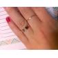 (1 шт) Женская мода Золотой полосы кольца