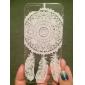 Pour Coque iPhone 5 Transparente Motif Coque Coque Arrière Coque Attrapeur de rêves Dur Polycarbonate pour iPhone SE/5s/5