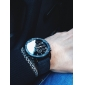 V6 남성용 밀리터리 시계 손목 시계 석영 일본 쿼츠 섬유 밴드 블랙 블루 그레이