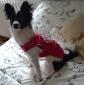 Кошка Собака Футболка Одежда для собак Терилен Весна/осень Лето На каждый день Тиары и короны Розовый Костюм Для домашних животных