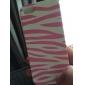 아이폰 5/5S (분류 된 색깔)를위한 얼룩말 줄무늬 패턴 하드 케이스