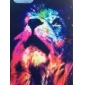 Fluorescent Lion Pattern Back Case for iPhone5/5S iPhone Cases