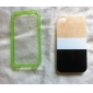 Fluorescent Effect After Lighting Transparent Back Case for iPhone 4/4S (Assorted Color)