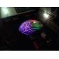mouse óptico com led usb óptico de jogos com fio do rato do computador 1800dpi (cores sortidas)