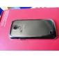 Pour Samsung Galaxy Coque Etuis coque Transparente Coque Arrière Coque Couleur unie Polycarbonate pour Samsung Galaxy S4 Mini