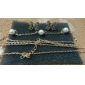Shixin® Fashion Chain With Pearl Women Gold Alloy Body Chains(81Cm*3Cm*3Cm) (1 Pc)