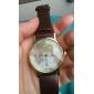 Жен. Модные часы Наручные часы Кварцевый World Map Pattern PU Группа Черный Белый Коричневый