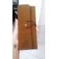 Кожаный чехол карта, с принтом Эйфелева башня (случайный цвет)