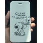 Cartoon Rabbits Pattern Leather Full Body Cases with Stand for iPhone 6s 6 Plus