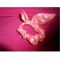bowknot를 토끼 귀 간단한 실제 높은 탄성 헤어 밴드 (색상 임의)