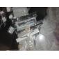 Brincos Compridos Jóias de Luxo Pérola imitação de diamante Liga Formato de Laço Torre Jóias Para Diário