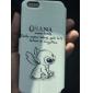 desenhos animados de couro coelhos padrão de corpo inteiro casos com suporte para iphone 6s 6 mais