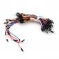 Electronics DIY Solder-less Flexible Breadboard Jumper Cable Wires 65Pcs