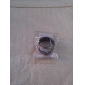 Aço inoxidável Estilo Ring Finger garrafa de vinho abridor de cerveja (20 mm de diâmetro) - Prata