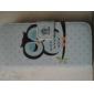 Pour Samsung Galaxy Coque Portefeuille Porte Carte Avec Support Clapet Magnétique Coque Coque Intégrale Coque Chouette Cuir PU pour