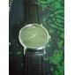 Women's Fashion Watch Quartz Imitation Diamond PU Band Minimalist Black White Brown