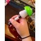 Teste padrão bonito Mushroom Retraído caneta esferográfica de tinta azul (cores aleatórias)
