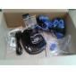 caisse de peau de silicone et 2 Blue Thumb bâton Poignées pour PS4 (bleu marine)