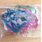 clips de pato estilo colorido del papel (color al azar, 10-pack)