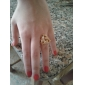 18KGlod 18K Plated Ring Health Ring Jewelry Nickel Free K Golden Plating Platinum Exquisite Golden Ring Christmas Gifts