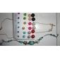 여성용 스터드 귀걸이 패션 의상 보석 합금 보석류 보석류 제품 파티 일상