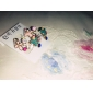 Women's Stud Earrings Basic Fashion Colorful Costume Jewelry Rhinestone Alloy Flower Jewelry For Wedding Party Daily Casual